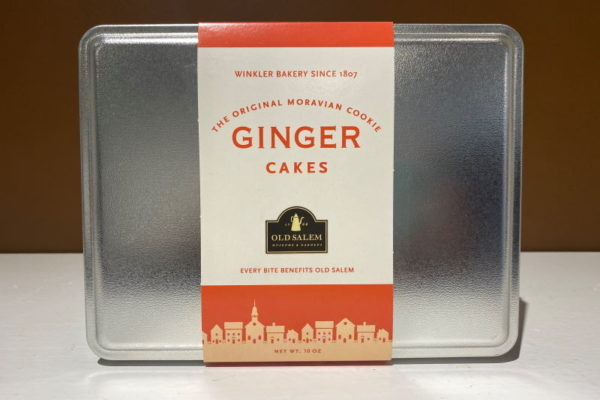 Ginger Cookie Tin
