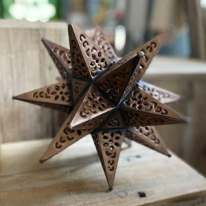 Small Punched Tin Star